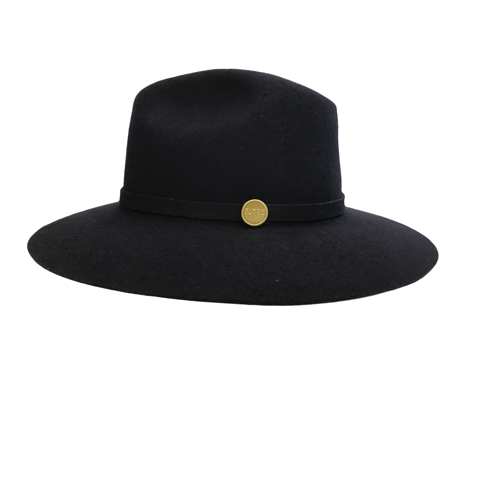 Wide Brimmed Hat By Simon And Mary Haritons